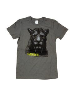 Adult La Brea Tar Pits Sabertooth T-Shirt