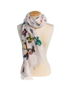 Butterfly Multicolored Scarf