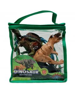 Dinosaur Adventure Bag of Six Dinosaurs
