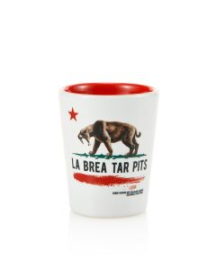 La Brea Tar Pits Shot Glass