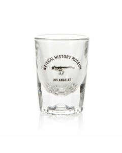 NHMLA T. rex Shot Glass