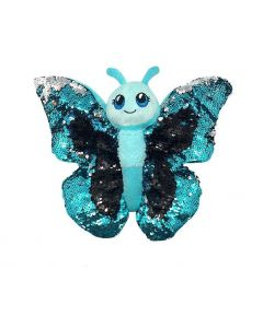 Sequined Plush Butterfly