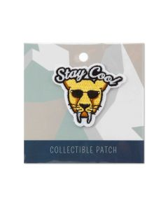 ''Stay Cool'' Sabertooth Collectible Patch