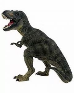 8 Inch Realistic T. Rex With Movable Jaw