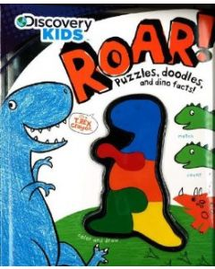 Discovery Kids: Roar! Puzzles, Doodles, and Dino Facts