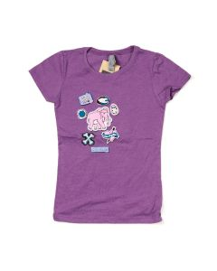 Girls Ice Age Patches T-Shirt