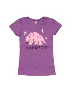 Girls Sloth Goals T-Shirt