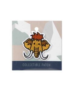 Mammoth Face Collectible Patch