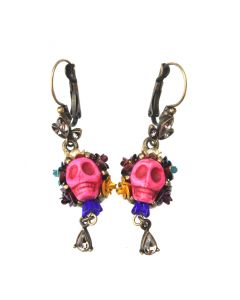Assorted Skull Drop Earrings