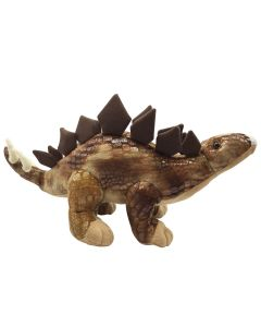 Textured Plush Stegosaurus